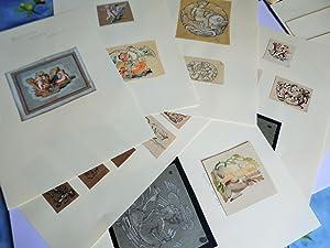 21 ETUDES ART DECO ANGELOTS ET AMOURS: ADRIEN AUGUSTE LEDUC