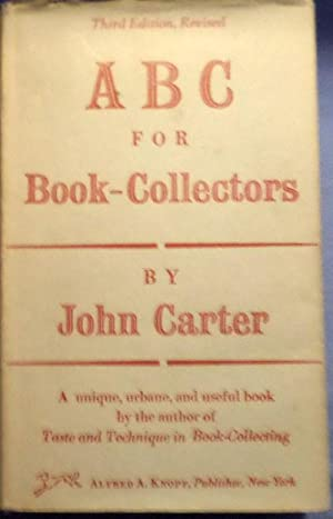 A B C for Book-Collectors.