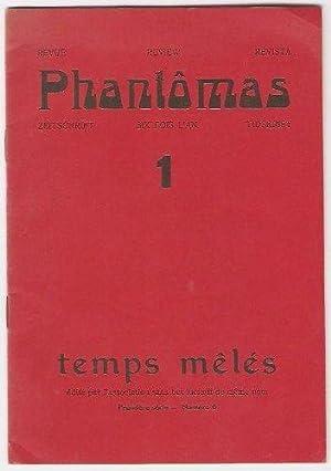 Phantômas 1. Temps mêlés 6.: Morisset Lucien -