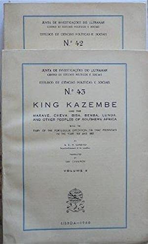 King Kazembe and the Marave, Cheva, Bisa, Bemba, Lunda, and others peoples of southern Africa bei...