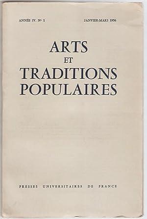 Arts et traditions populaires. Revue trimestrielle de: Guilcher (J.-M.) -
