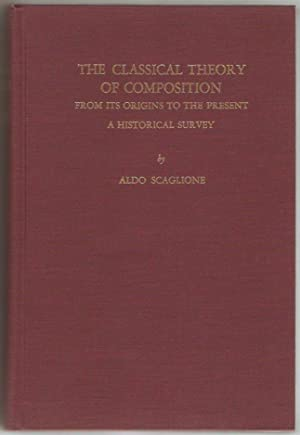 The Classical theory of compostion from its origins to the present. A Historical survey.