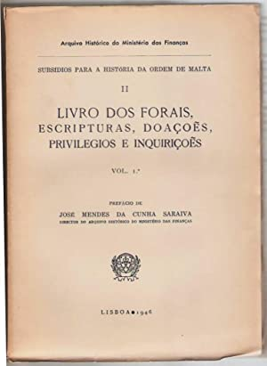 Subsidios para a historia da ordem de: José Mendes da
