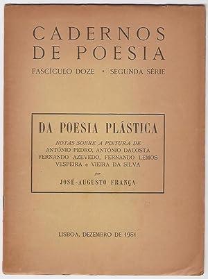 Da Poesia plastica. Notas sobre a pintura: França (José-Augusto)