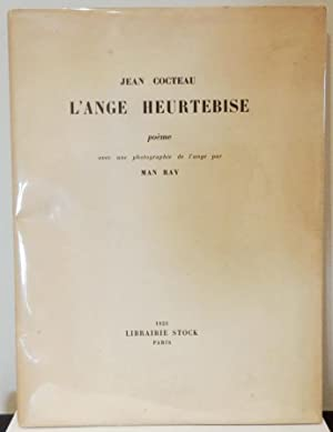 933f95f560b L Ange Heurtebise poème avec une photographie de  Cocteau (Jean) -