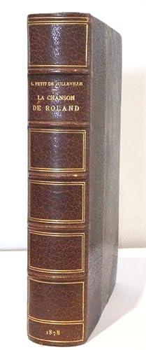 La Chanson de Roland. Traduction nouvelle rythmée: Petit de Julleville