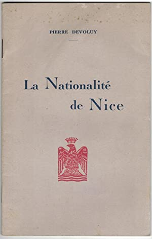 La Nationalité de Nice.