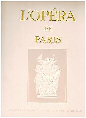 Revue l'Opéra de Paris, Académie nationale de: Honegger (Arthur) -