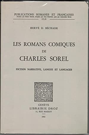 Les Romans comiques de Charles Sorel. Fiction narrative, langue et langages.