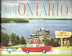 This is Ontario Canada's Variety Vacationland