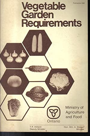 Vegetable Garden Requirements, Publication 536