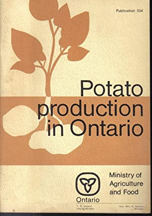 Potato Production in Ontario, Publication 534