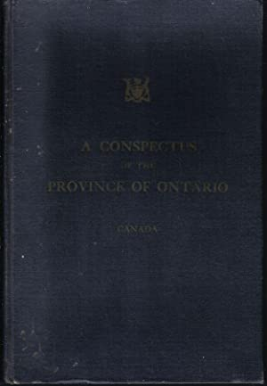 A Conspectus of the Province of Ontario, Canada