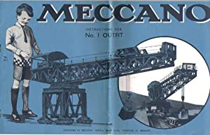 Meccano Instructions for Number 1 Outfit