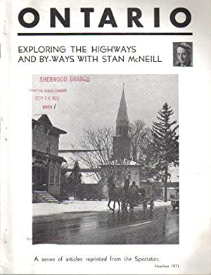 Ontario, Exploring the Highways and By-ways with: Stan McNeil