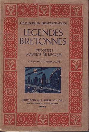 Légendes Bretonnes.: Becque, Maurice de