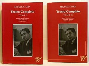 TEATRO COMPLETO. TOMO 1 & 2: Lira, Miguel N.;