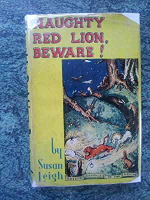 NAUGHTY RED LION BEWARE