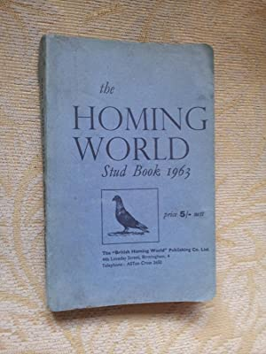 THE HOMING WORLD STUD BOOK 1963