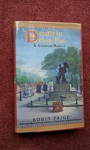 DEATH IN HYDE PARK - A Victorian Mystery