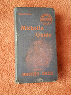 MICHELIN GUIDE TO THE BRITISH ISLES - 1914 - FOURTH YEAR