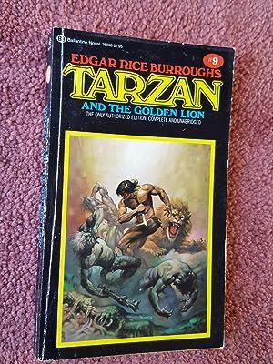 TARZAN AND THE GOLDEN LION - No.: EDGAR RICE BURROUGHS