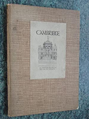 CAMBRIDGE - A SKETCH-BOOK: KEESEY, WALTER M