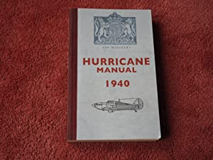 AIR MINISTRY HURRICANE MANUAL 1940