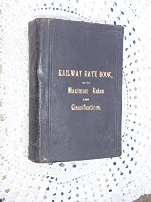 BEMROSE'S RAILWAY RATE BOOK OF THE STATIONS,
