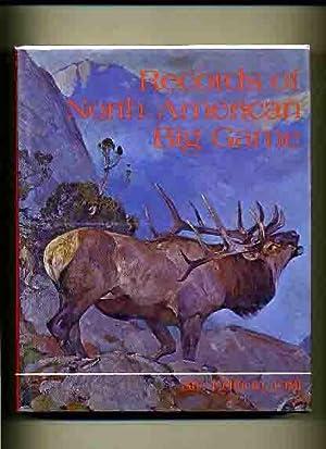 Records of North American Big Game, 8th: Boone & Crockett