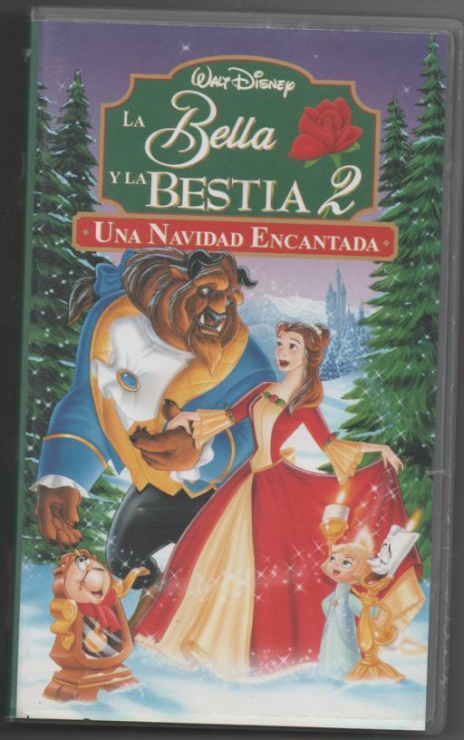 Peliculas Dibujos Animados De Navidad.Pelicula Video Vhs La Bella Y La Bestia 2