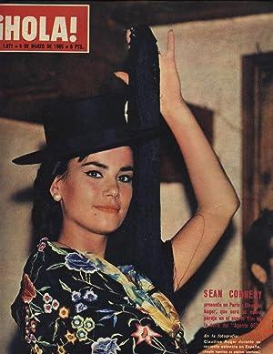 REVISTA HOLA Nº 1071 - 6 MARZO 1965 - EL SHA Y FARAH VISITAN LONDRES: SE RECLAMA EL TRONO DE ...