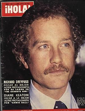 HOLA, nº 1755 - 15 abril 1978: FARAH DIBA, DUQUES DE ALBA.: RICHARD DREYFUSS, DIANE KEATON