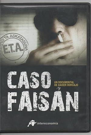 CASO FAISÁN, DOCUMENTAL DE XAVIER HORCAJO DVD: DOCUMENTAL DE XAVIER