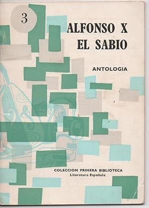 ALFONSO X EL SABIO ANTOLOGÍA (HISTORIA, DERECHO,: ORIGEN DEL HOMBRE