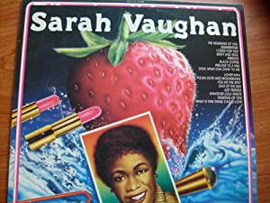SARAH VAUGHAN ITALY 1986 THE ENTERTAINERS