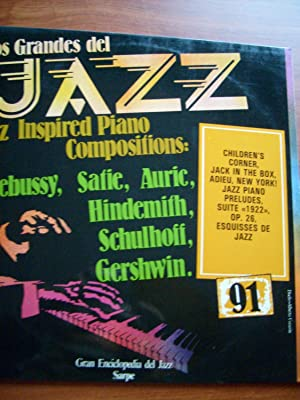 JAZZ INSPIRED PIANO SUITES CLASSICS COMPOSITIONS DEBUSSY SATIE ETC