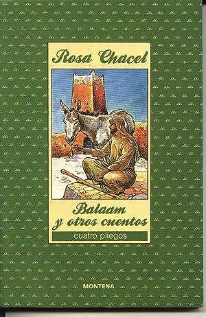 BALAAM Y OTROS CUENTOS: Rosa Chacel