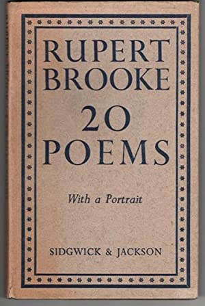 Rupert Brooke 20 Poems: Brooke Rupert