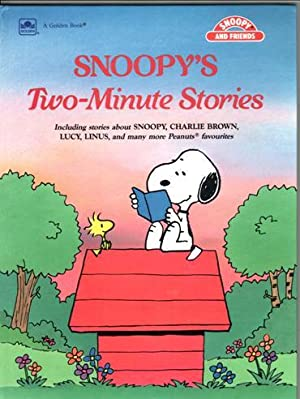 Snoopy's Two-Minute Stories: Schulz, Charles M,