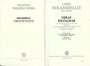 PIRANDELLO OBRAS ESCOGIDAS: Luigi Pirandello