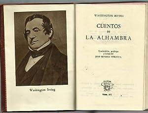 CUENTOS DE LA ALHAMBRA: Washington Irving