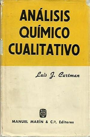 ANÁLISIS QUÍMICO CUALITATIVO: Luis J. Curtman
