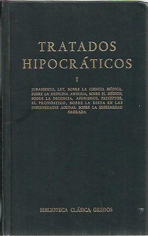 TRATADOS HIPOCRÁTICOS I: Editorial Gredos
