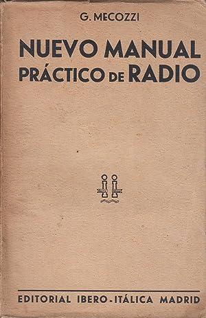 NUEVO MANUAL PRÁCTICO DE RADIO: G. Mecozzi