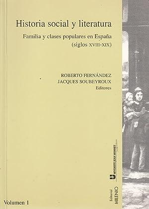 HISTORIA SOCIAL Y LITERATURA Familia y clases: Roberto Fernández -