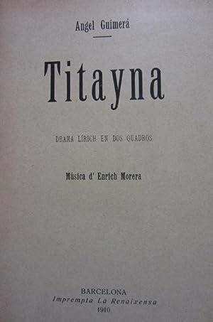 TITANYA - LA SALA D'ESPER - MORT D'EN JAUME D'URGELL - JESÚS DE NAZARETH - LO...