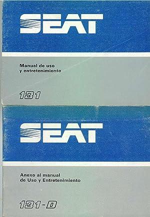 SEAT 131 Manual De Uso y Entretenimiento - SEAT 131-D Anexo al Manual De Uso y Entretenimiento: ...