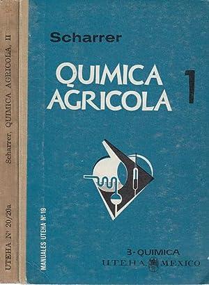 QUIMICA AGRICOLA 1 nutricion de las plantas,: Karl Scharrer