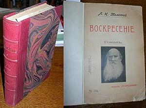 VOSKRESENIE (Resurrection): Tolstoy, Lev Nikolaevich